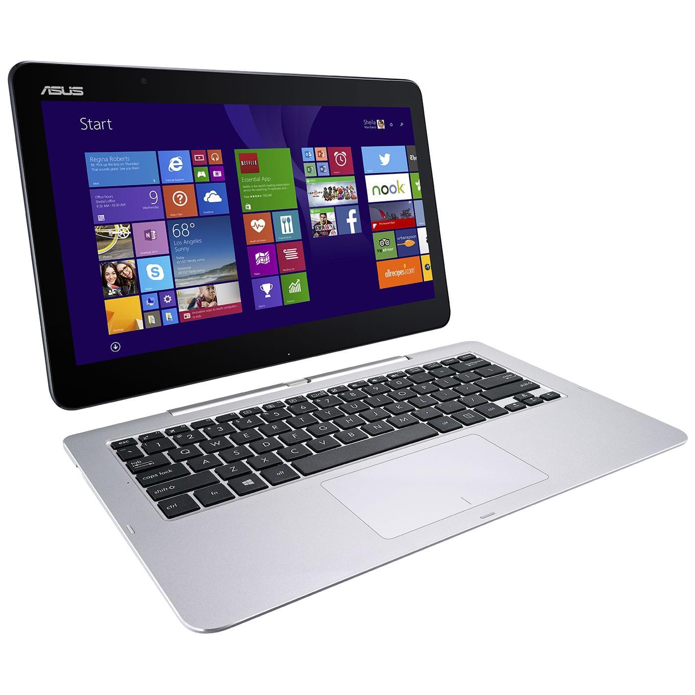 Asus T300FA-FE006P (T300FA-FE006P) - Achat / Vente PC Portable sur Cybertek.fr - 0