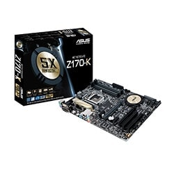 Asus Carte Mère Z170-K - Z170/LGA1151/DDR4/CF/ATX Cybertek