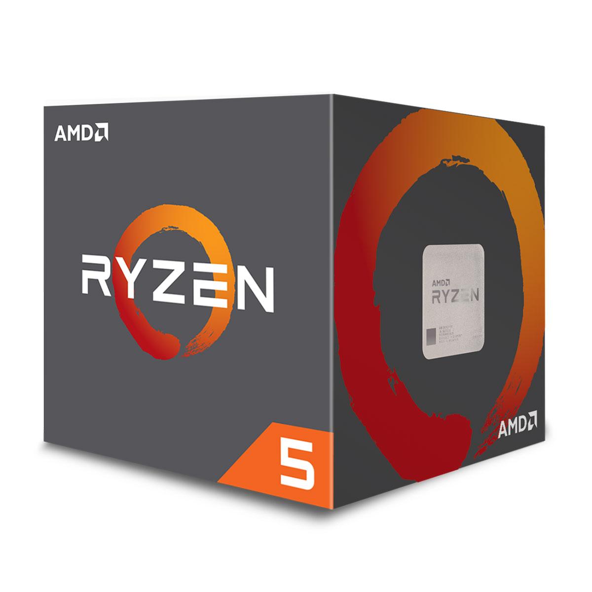 AMD Ryzen 5 2600 - 3.9GHz - Processeur AMD - Cybertek.fr - 1