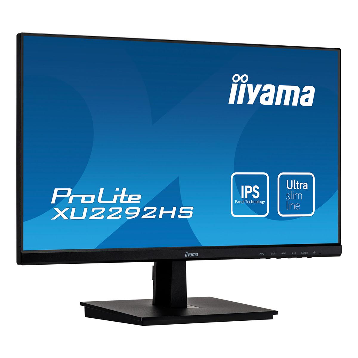 "Iiyama 22""  XU2292HS-B1 - Ecran PC Iiyama - Cybertek.fr - 0"