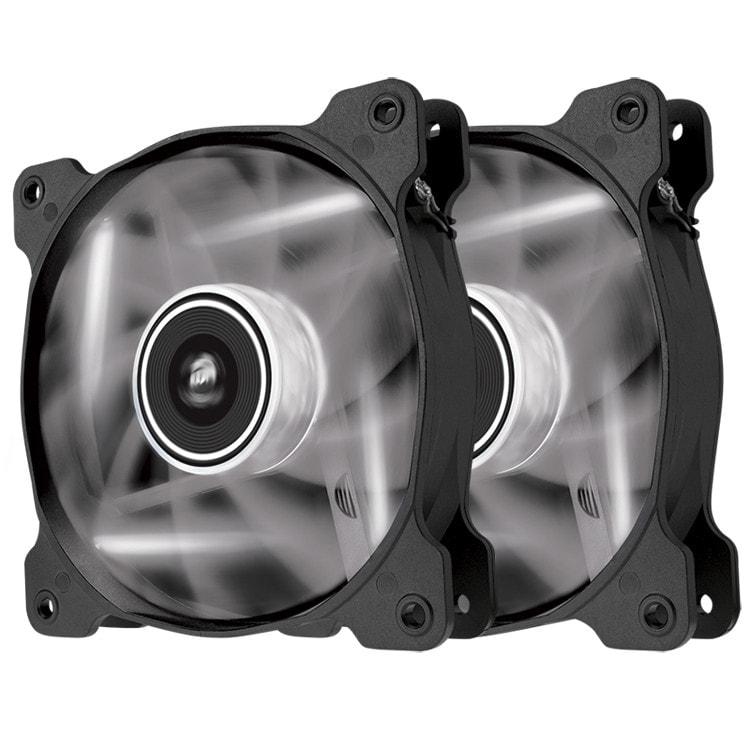 Corsair SP120 120mm LED BLANC Dual Pack (CO-9050030-WW) - Achat / Vente Ventilateur sur Cybertek.fr - 0