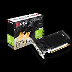 image produit MSI N730K-2GD3H/LP - GT730/2Go/PCI-E Cybertek