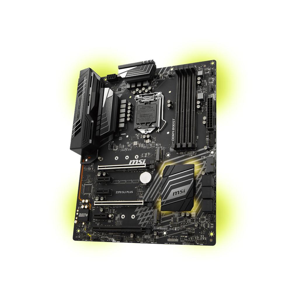 MSI Z370 SLI PLUS ATX DDR4 - Carte mère MSI - Cybertek.fr - 2
