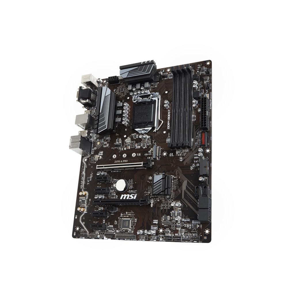 MSI Z370-A PRO ATX DDR4 - Carte mère MSI - Cybertek.fr - 2