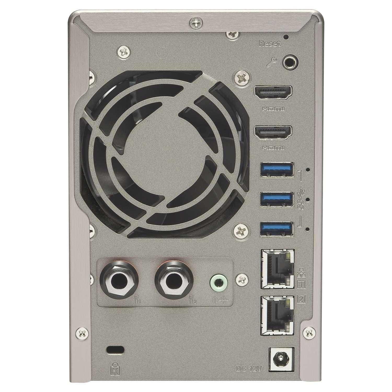 Qnap TS-253A-4G - N3150/2 HDD/4Go - Serveur NAS Qnap - Cybertek.fr - 1