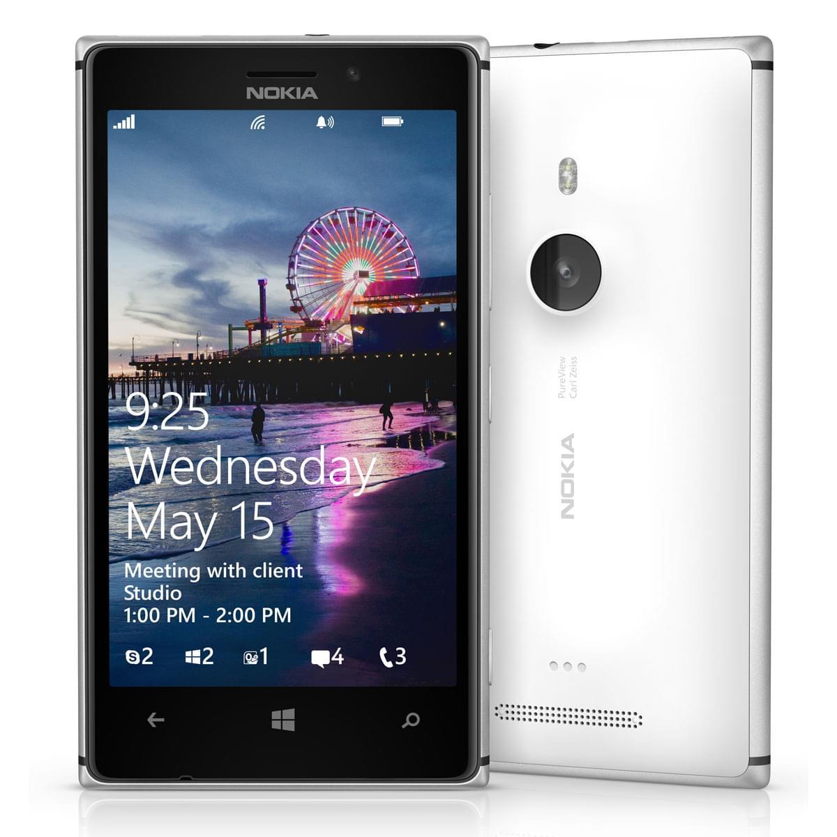 Nokia Lumia 925 Blanc (A00012217) - Achat / Vente Téléphonie sur Cybertek.fr - 0