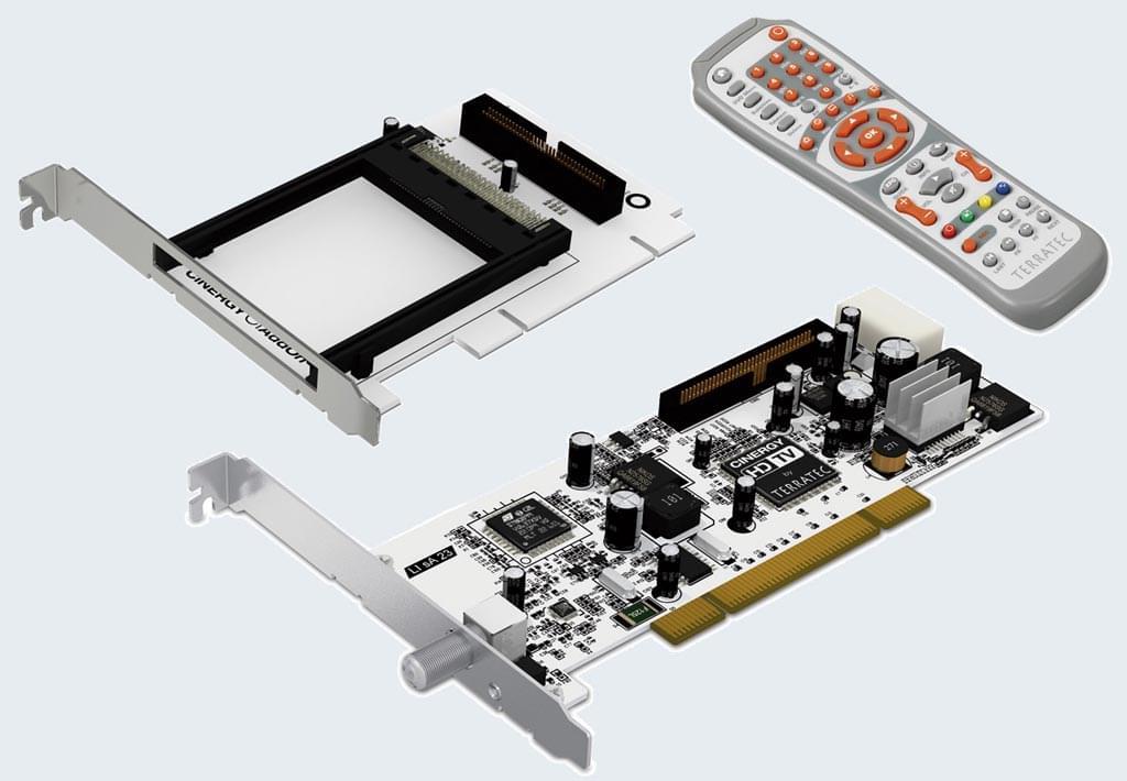 Terratec Cinergy S2 PCI HD + CI-Module (10544) - Achat / Vente Tuner TNT sur Cybertek.fr - 0