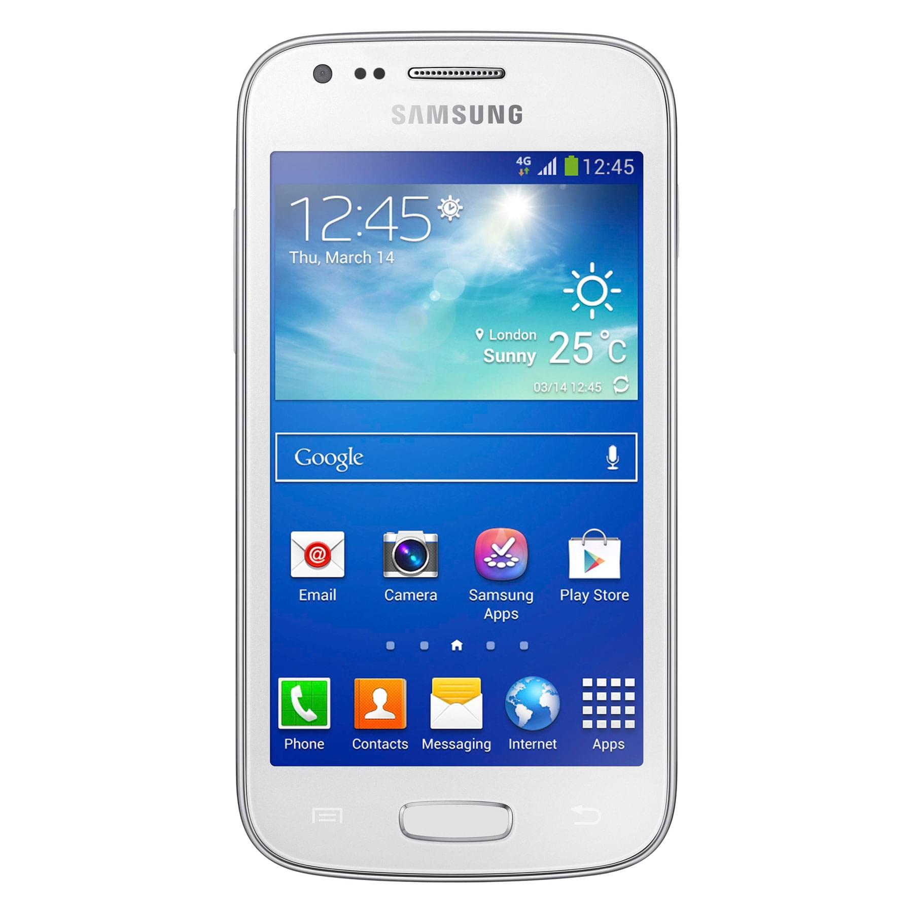Samsung Galaxy Ace 3 8Go Blanc S7275 (GT-S7275UWNXEF) - Achat / Vente Téléphonie sur Cybertek.fr - 0