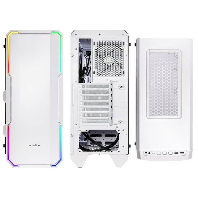 BitFenix GT/sans alim./E-ATX/RGB Blanc - Boîtier PC BitFenix - 1