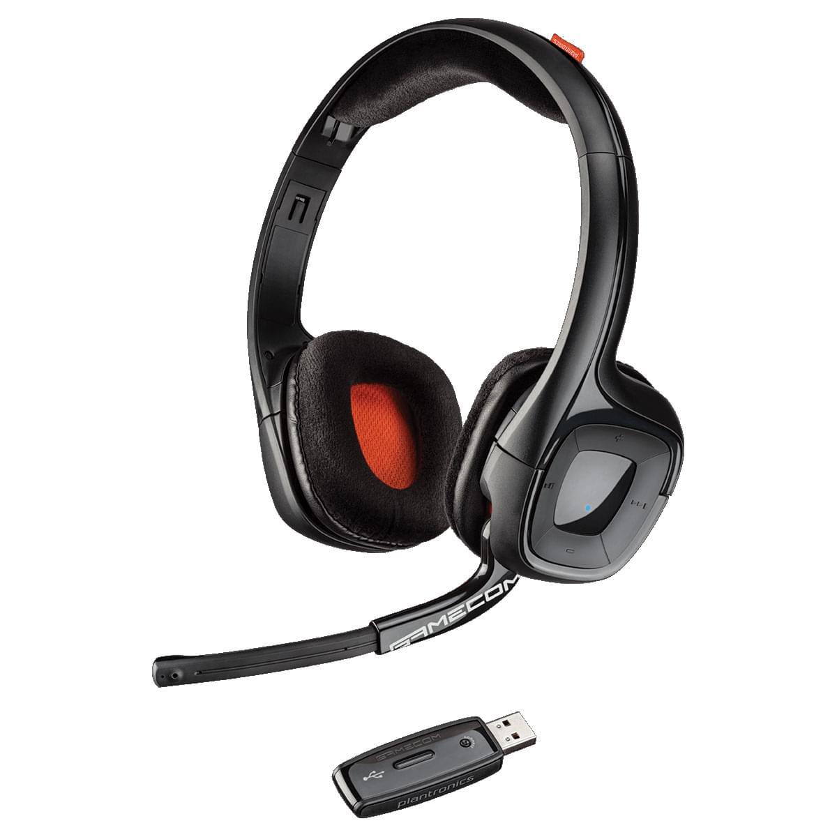 Plantronics Gamecom 818 Stereo Noir - Micro-casque - Cybertek.fr - 0