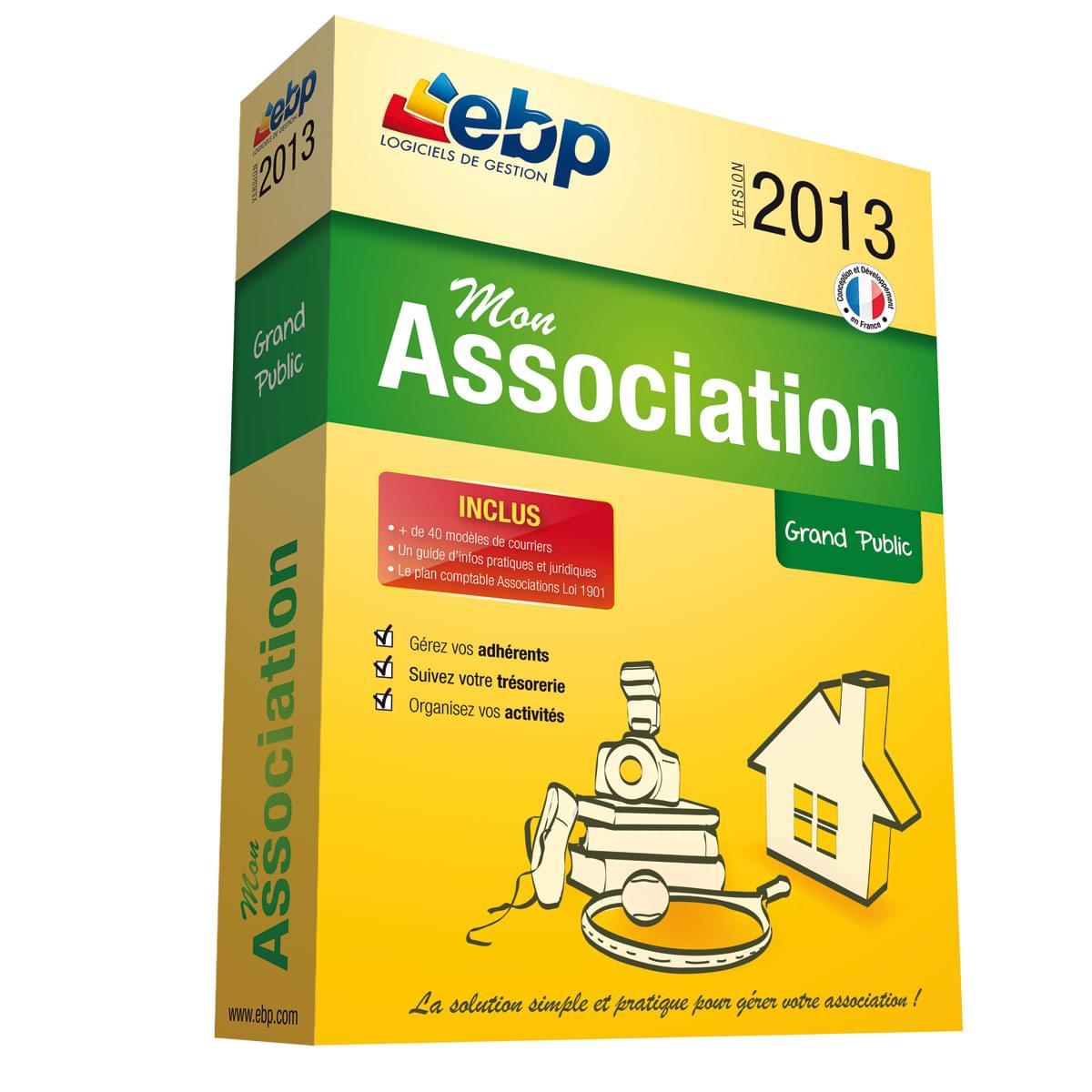 EBP Mon Association 2013 (1049J170FAA) - Achat / Vente Logiciel Application sur Cybertek.fr - 0