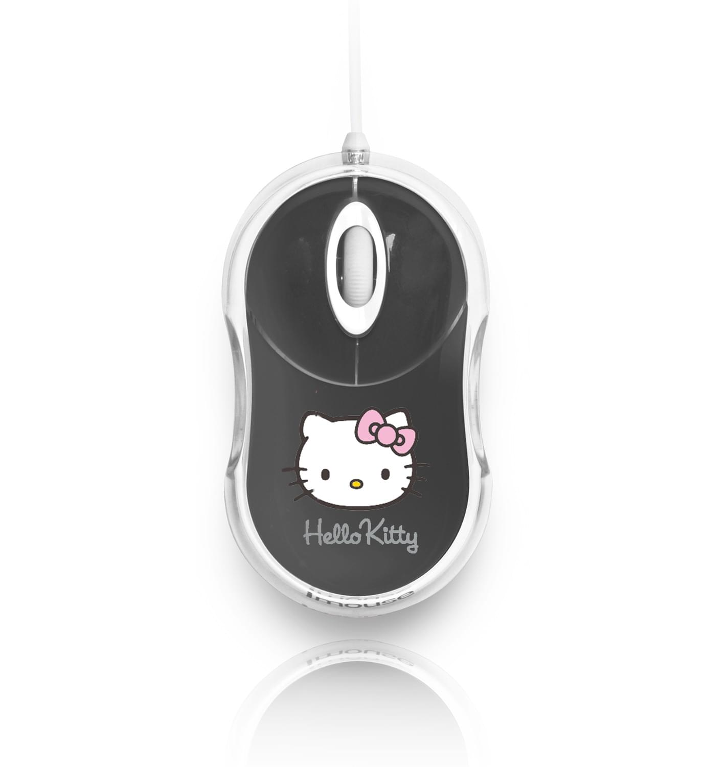 Souris PC Bluestork Bumpy Hello Kitty Gris - 0