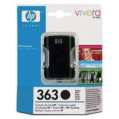 HP Cartouche N° 363 Noire (C8719EE) - Achat / Vente Consommable Imprimante sur Cybertek.fr - 0