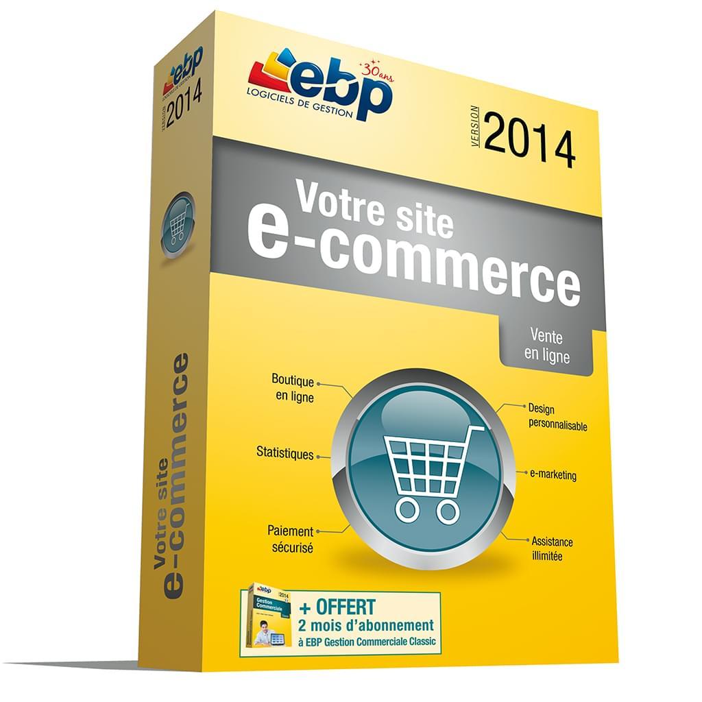 EBP Votre site @-commerce 2014 (1187J022FAB) - Achat / Vente Logiciel Application sur Cybertek.fr - 0