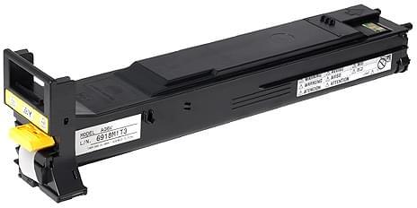 Toner Jaune 6000p - A06V252 pour imprimante Laser Konica-Minolta - 0