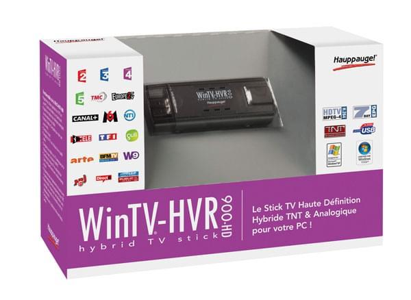 WinTV HVR-900 HD (TNT+Analogique+FM) - Tuner TNT Hauppauge - 0