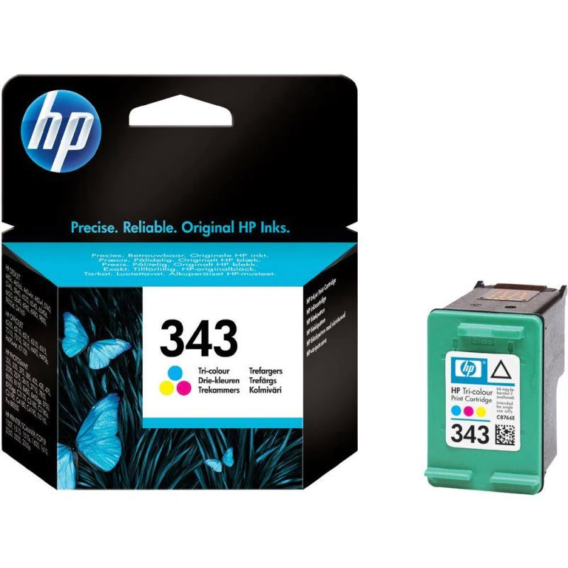 Consommable imprimante HP Cartouche C8766EE n°343