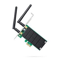 image produit TP-Link PCI-E WiFi 802.11AC 1200Mbits - ARCHER T4E Cybertek