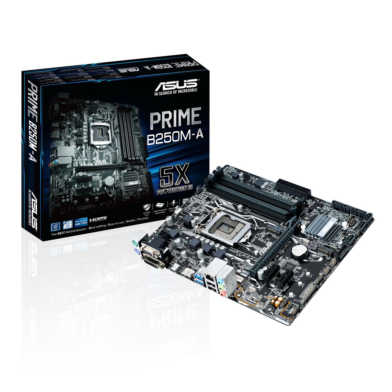 Asus PRIME B250M-A/CSM Micro-ATX DDR4 - Carte mère Asus - 0