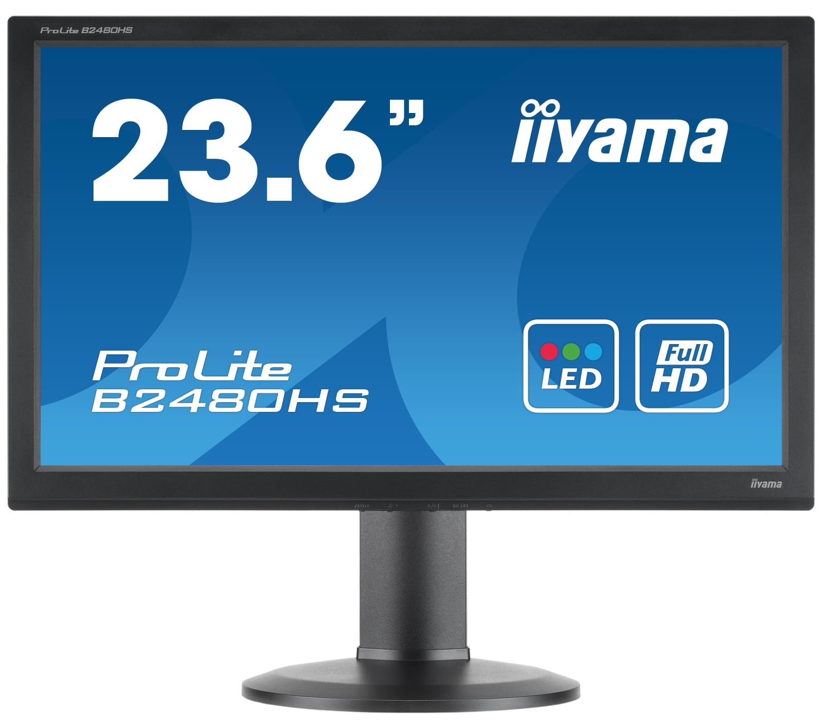 Iiyama B2480HS-B1 (B2480HS-B1) - Achat / Vente Ecran PC sur Cybertek.fr - 0