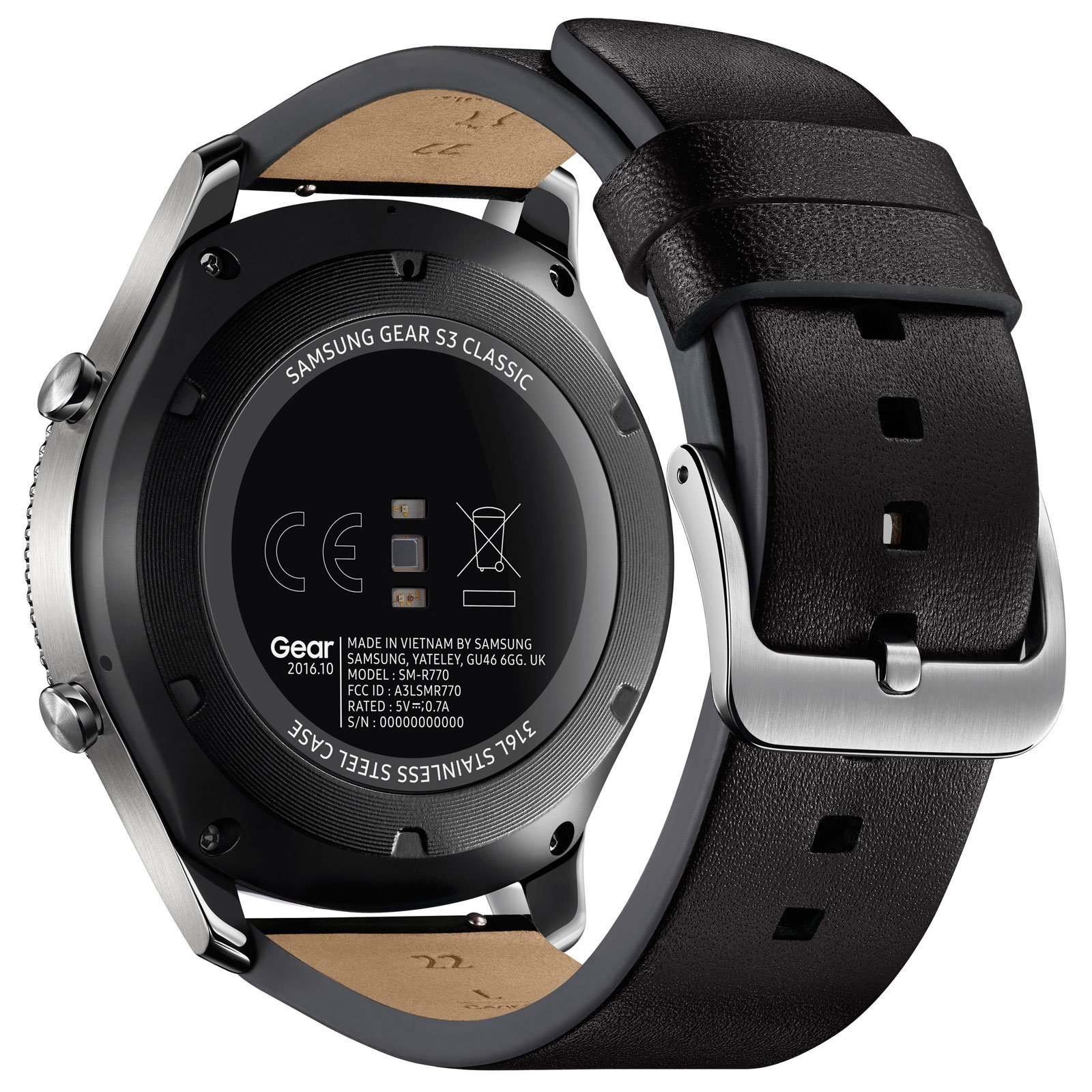 Samsung Gear S3 Classic (SM-R770NZSAXEF) - Achat / Vente Objet connecté / Domotique sur Cybertek.fr - 1