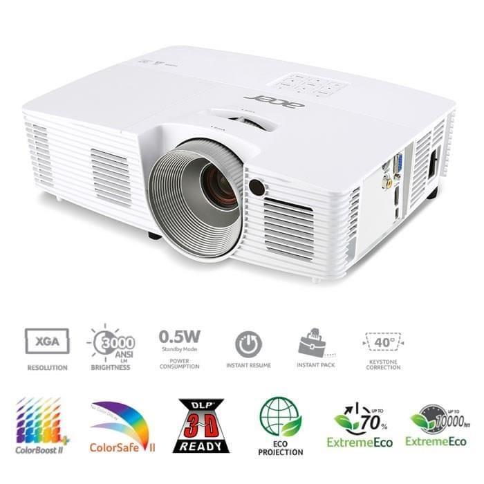 Acer X123PH (MR.JKZ11.001) - Achat / Vente Vidéoprojecteur sur Cybertek.fr - 0