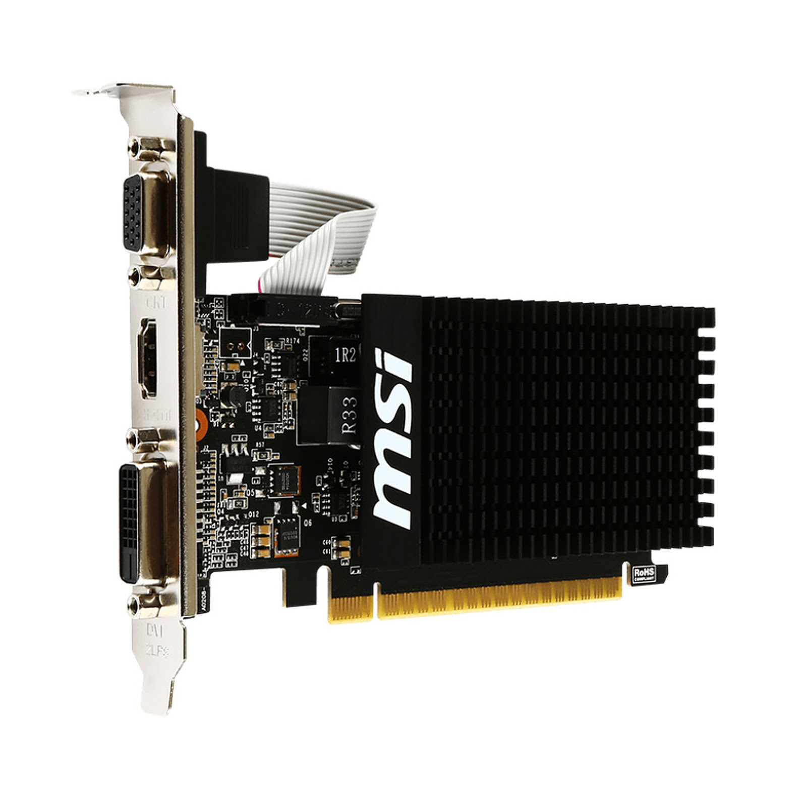 MSI GT 710 2GD3 LP 2Go - Carte graphique MSI - Cybertek.fr - 2