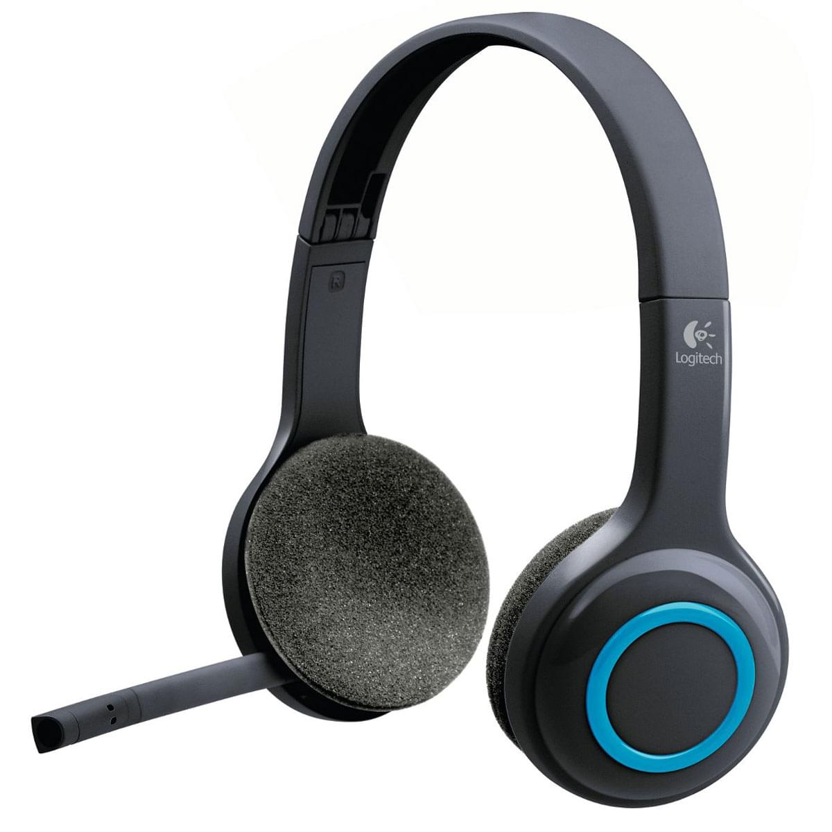 Logitech Wireless Headset H600 Stereo Noir - Micro-casque - 0