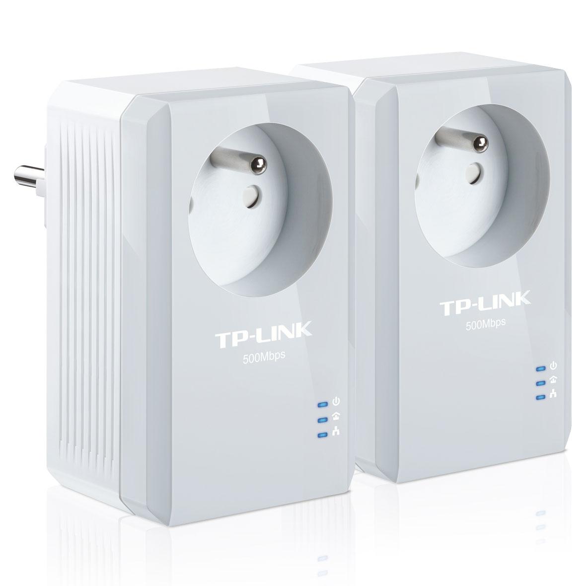 TP-Link TL-PA4015PKIT (500Mb) avec prise - Pack de 2  - Adaptateur CPL - 0