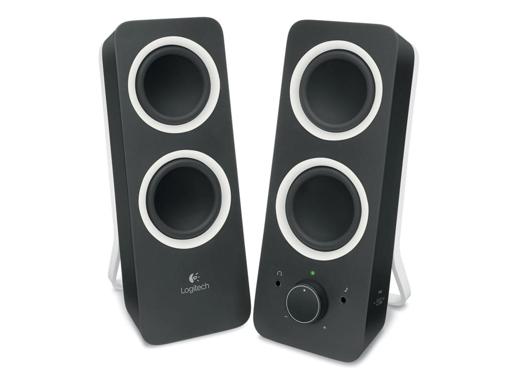 Logitech Multimedia Speakers Z200 Midnight Black 2HP (980-000810) - Achat / Vente Enceinte PC sur Cybertek.fr - 0