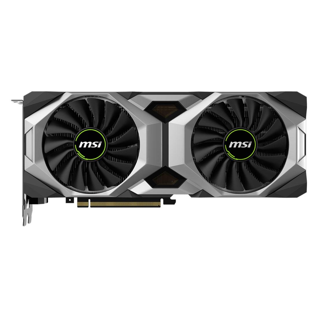 MSI GeForce RTX 2080 VENTUS 8G OC (912-V372-002) - Achat / Vente Carte graphique sur Cybertek.fr - 3