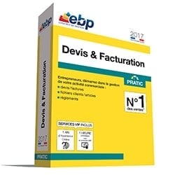 EBP Logiciel Application Devis & Facturation Pratic 2017 + VIP Cybertek