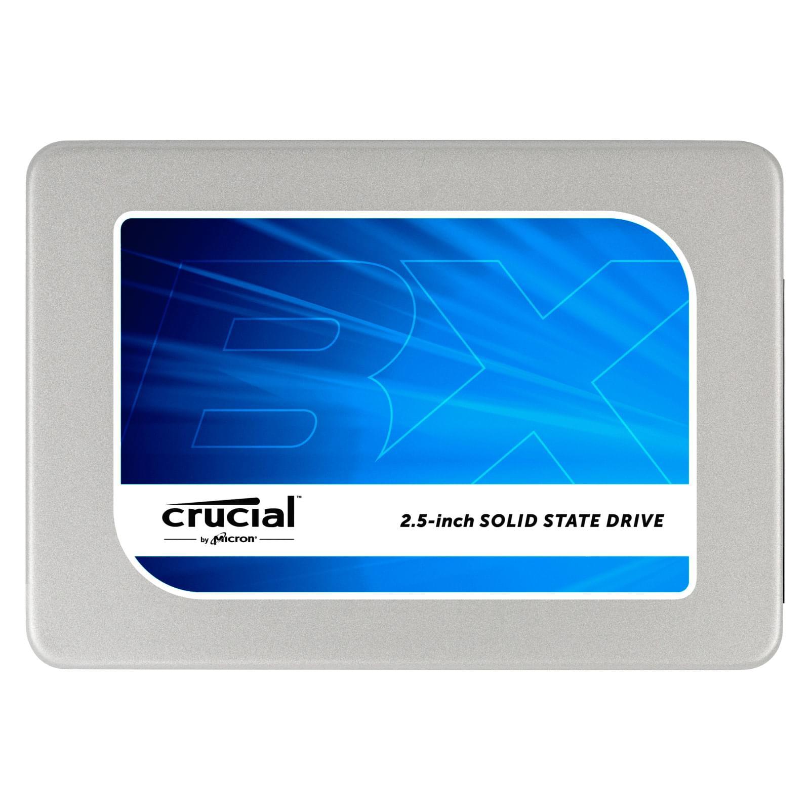 Crucial 240Go SATA III BX200 (CT240BX200SSD1) - Achat / Vente Disque SSD sur Cybertek.fr - 0