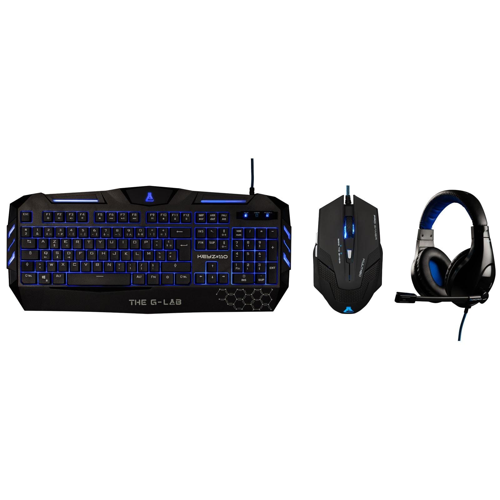 The G-LAB Gaming Combo 200 - Pack Clavier/Souris - Cybertek.fr - 0