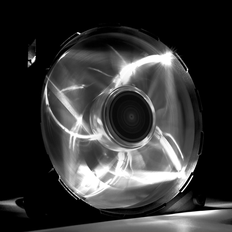 NZXT FZ 120mm White LED - Ventilateur boîtier NZXT - Cybertek.fr - 2