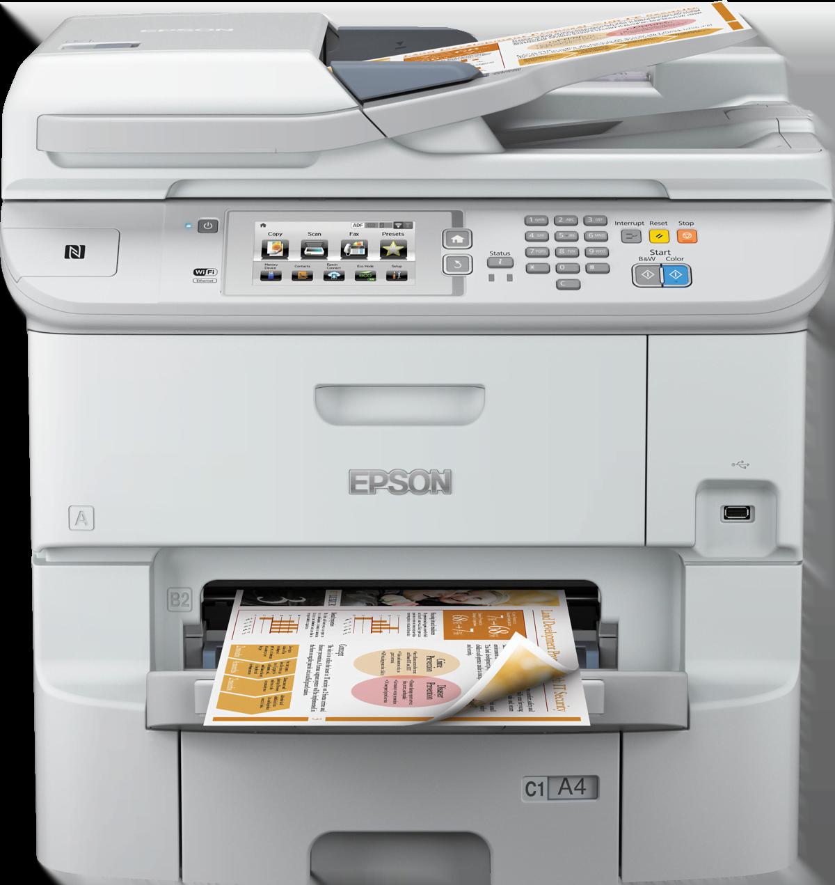 Epson WorkForce Pro WF-6590DTWFC (C11CD49301BR) - Achat / Vente Imprimante Multifonction sur Cybertek.fr - 0