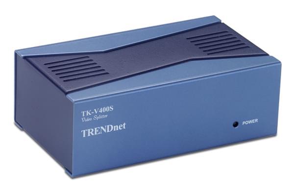 1UC-4 Ecrans simultanes VGA - TK-V400S -  TrendNet - Cybertek.fr - 0