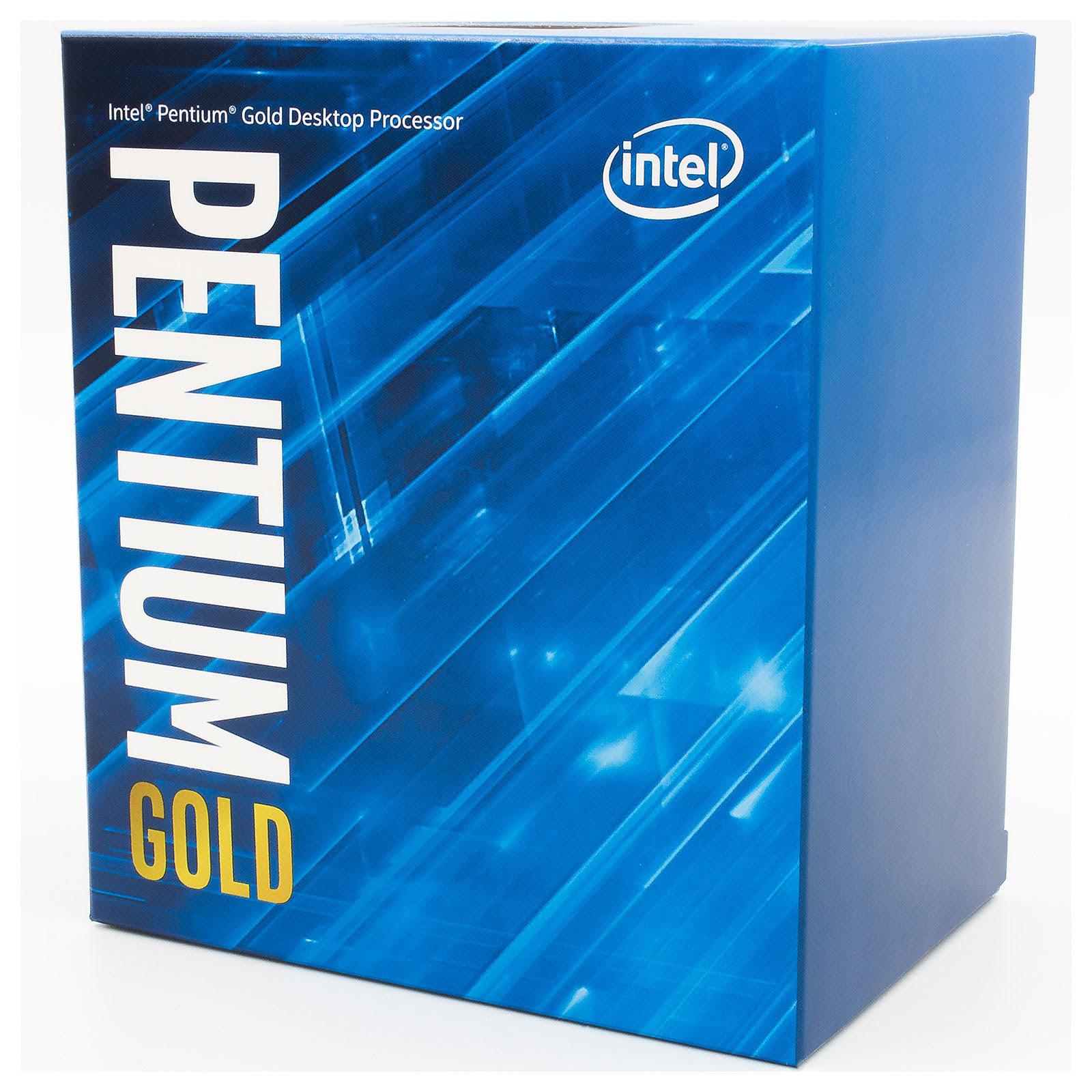Intel Pentium Gold G6500 - 4.1GHz - Processeur Intel - Cybertek.fr - 2
