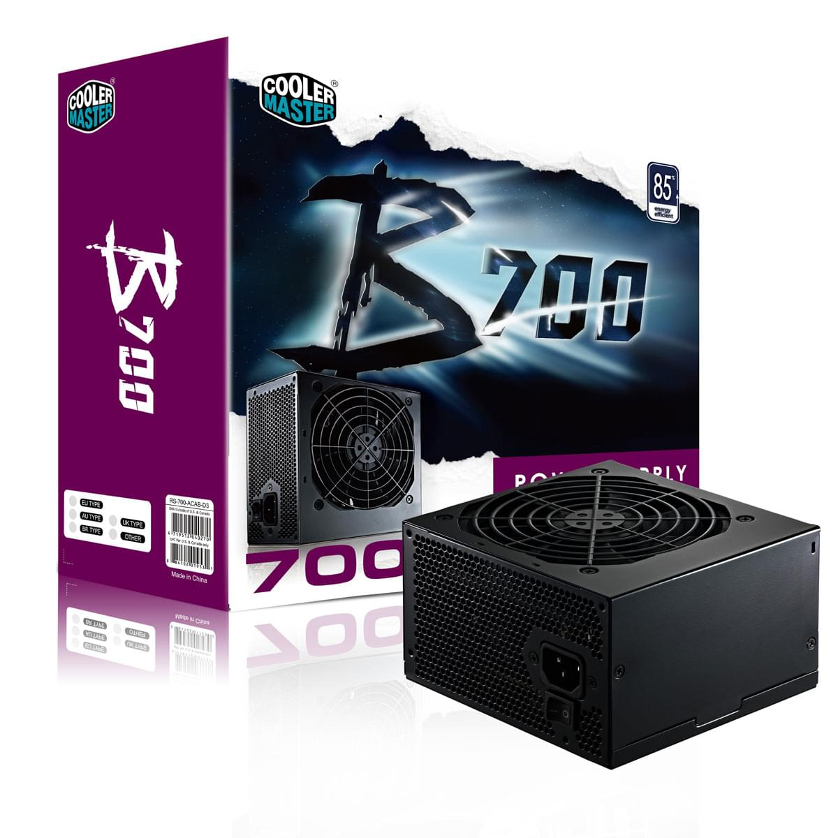 Alimentation PC Cooler Master ATX 700 Watts B700 RS700-ACABD3-E1 - 0