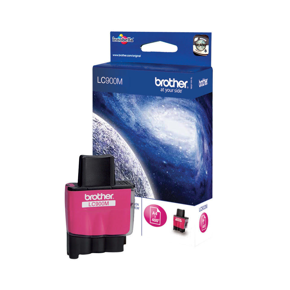 Consommable imprimante Brother Cartouche LC900M Magenta