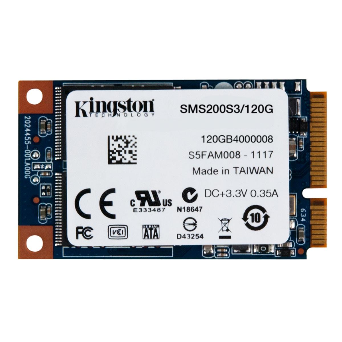 Kingston SMS200S3/120G 120-128Go - Disque SSD Kingston - 1