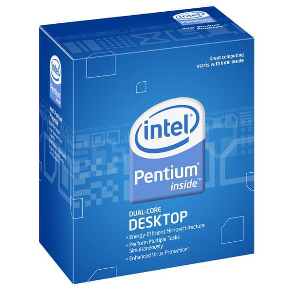 Intel Pentium Dual-Core E5500 - 2.8GHz - Processeur Intel - 0