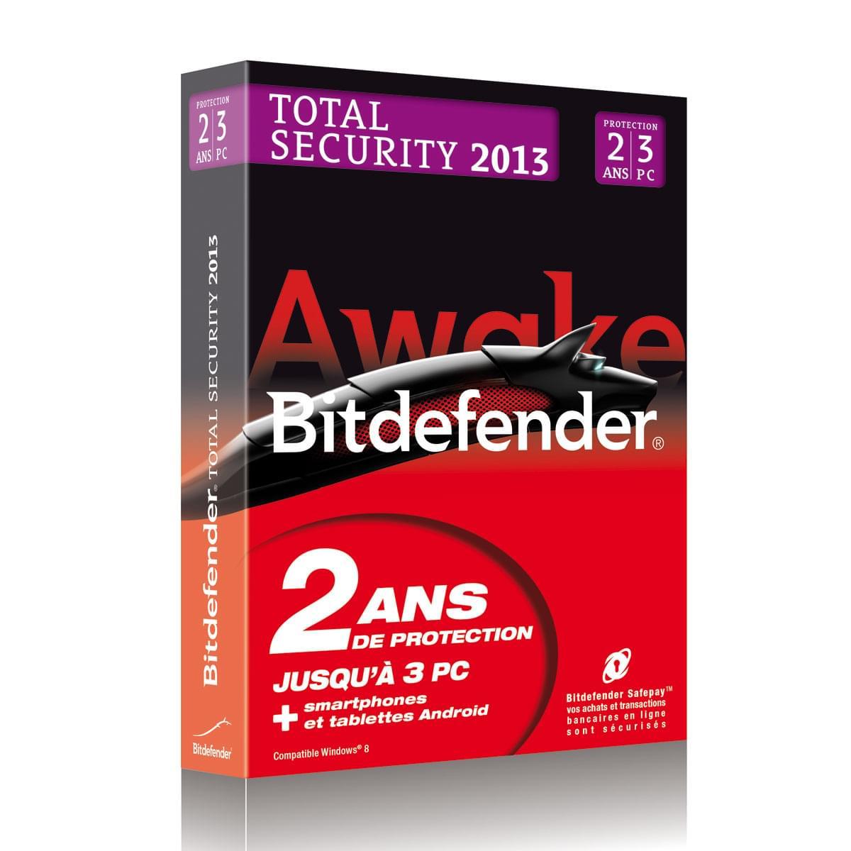 Bitdefender Total Security 2013 (B-FBDTS-3W2P003) - Achat / Vente Logiciel sécurité sur Cybertek.fr - 0