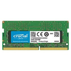 image produit Crucial SO-DIMM 16Go DDR4 2666 CT16G4SFD8266 Cybertek