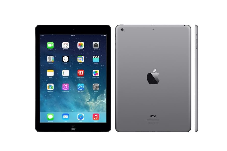 Apple iPad Air 16Go WiFi + Cellular Gris Sidéral (Noir) - 0