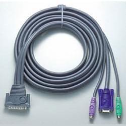 No Name Câble pieuvre clav/ecran/souris PS2 pour CS128A 3m (2L1603P) - Achat / Vente Connectique PC sur Cybertek.fr - 0