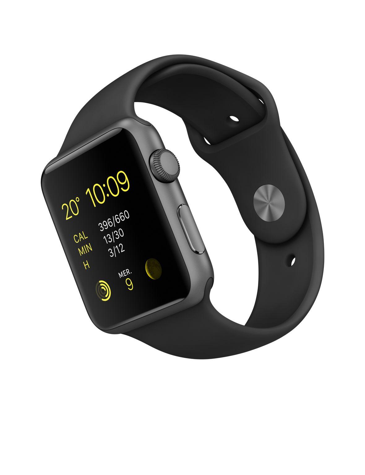 Apple Watch Sport (MJ3T2FD/A) - Achat / Vente Objet connecté / Domotique sur Cybertek.fr - 0