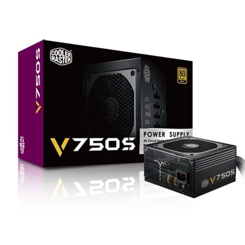 Alimentation PC Cooler Master ATX 750 Watts VSM750 80+ Gold RS750-AMAAG1-EU - 0