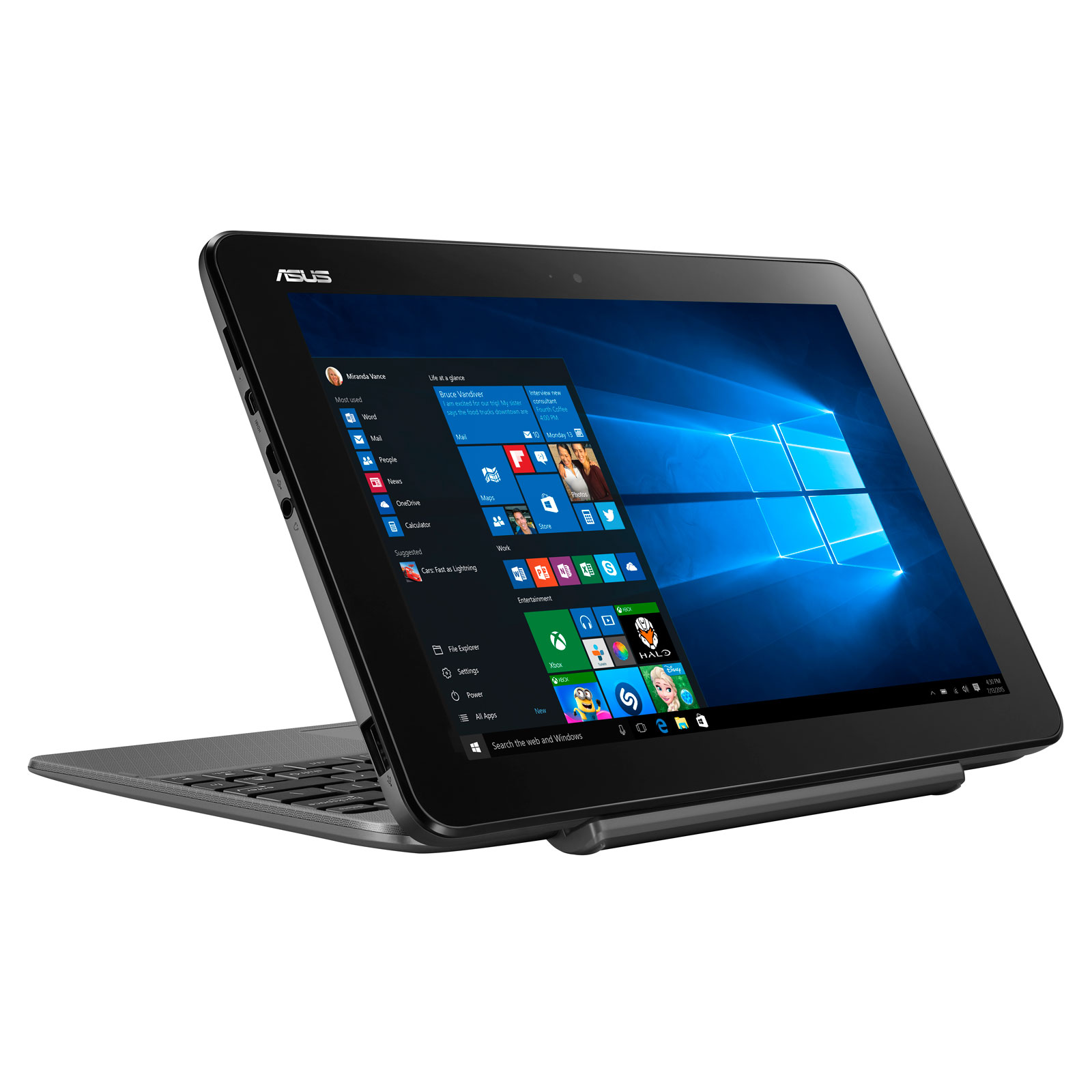 Asus T101HA-GR029RB - PC portable Asus - Cybertek.fr - 3