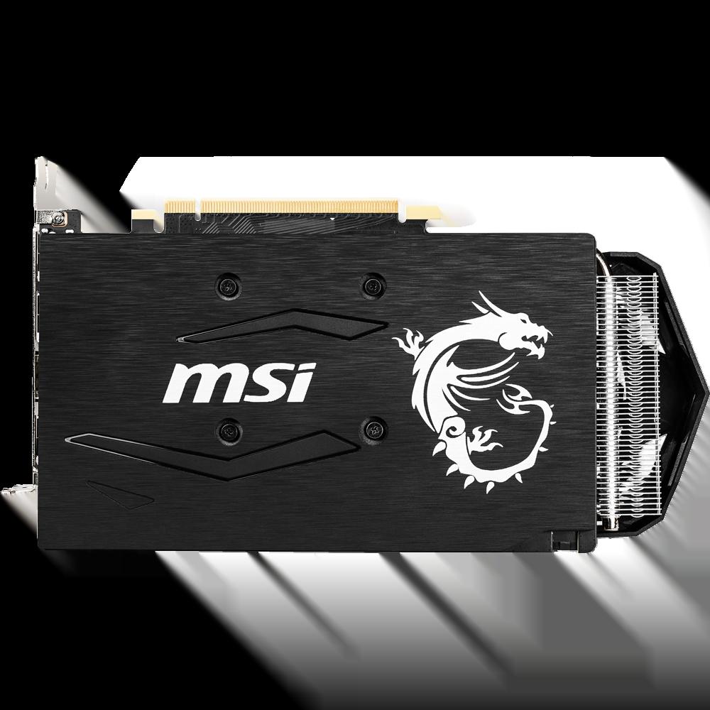 MSI GTX 1660 Armor 6G OC 6Go - Carte graphique MSI - Cybertek.fr - 1